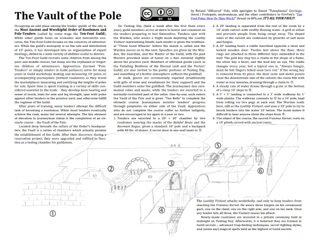 The Vault of the Pole, by Roland Volz