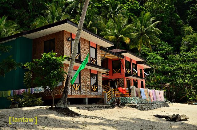 Pacman's beach house