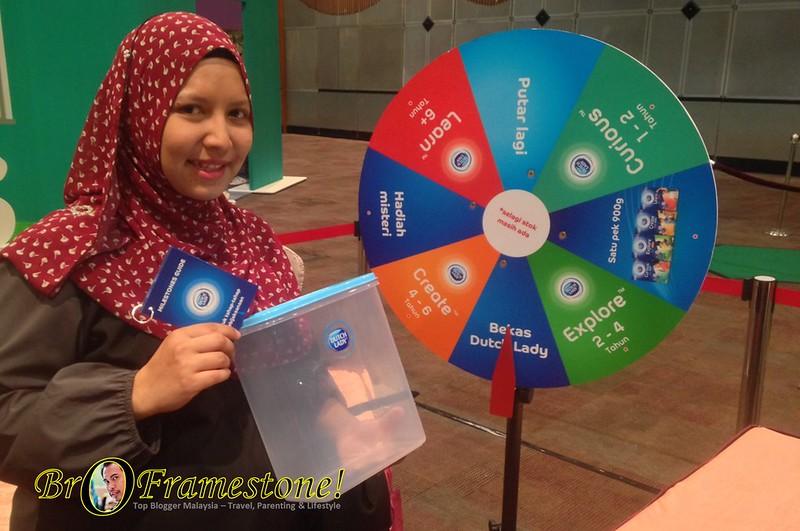 Cabutan Bertuah Dutch Lady Smart Milestones Consumer Event