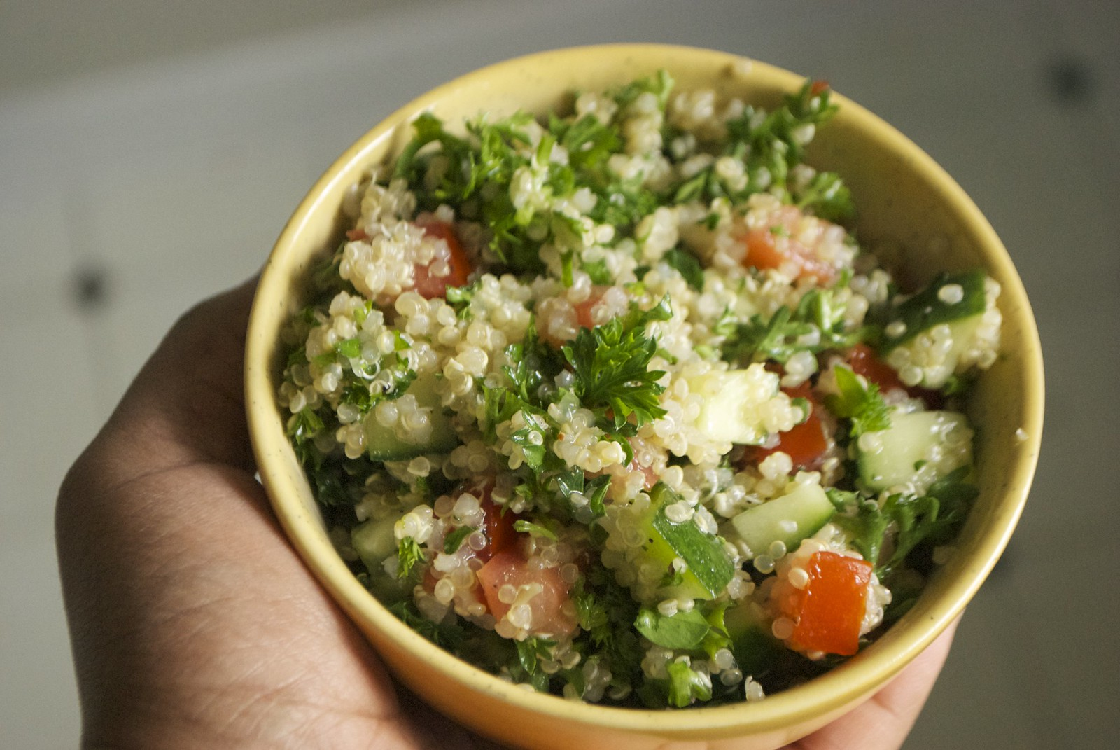 Quinoa Tabbouleh | Kitchen in the Hills