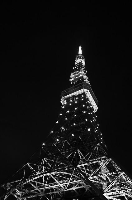 Tokyo Tower Rainbow Diamond Veil 11