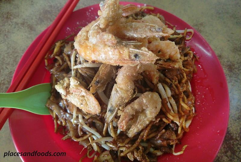 restoran hao wan shop char kuey teow