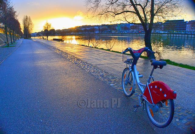 Lyon en bici