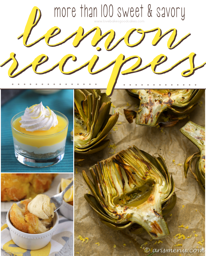 More than 100 Sweet & Savory Lemon Recipes
