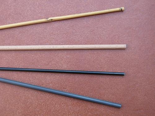 Materiales para construir el armaz n de la cometa - Varillas fibra de vidrio ...
