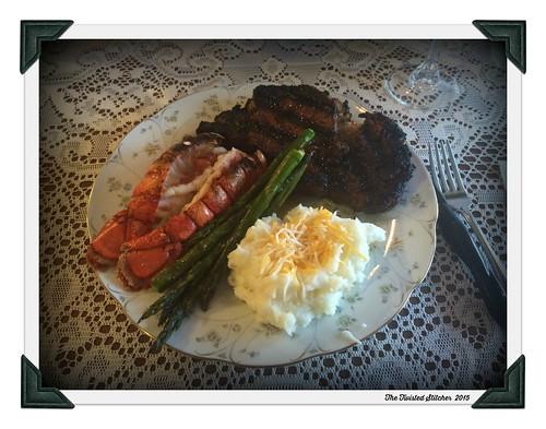 Prom Dinner Plate 2015