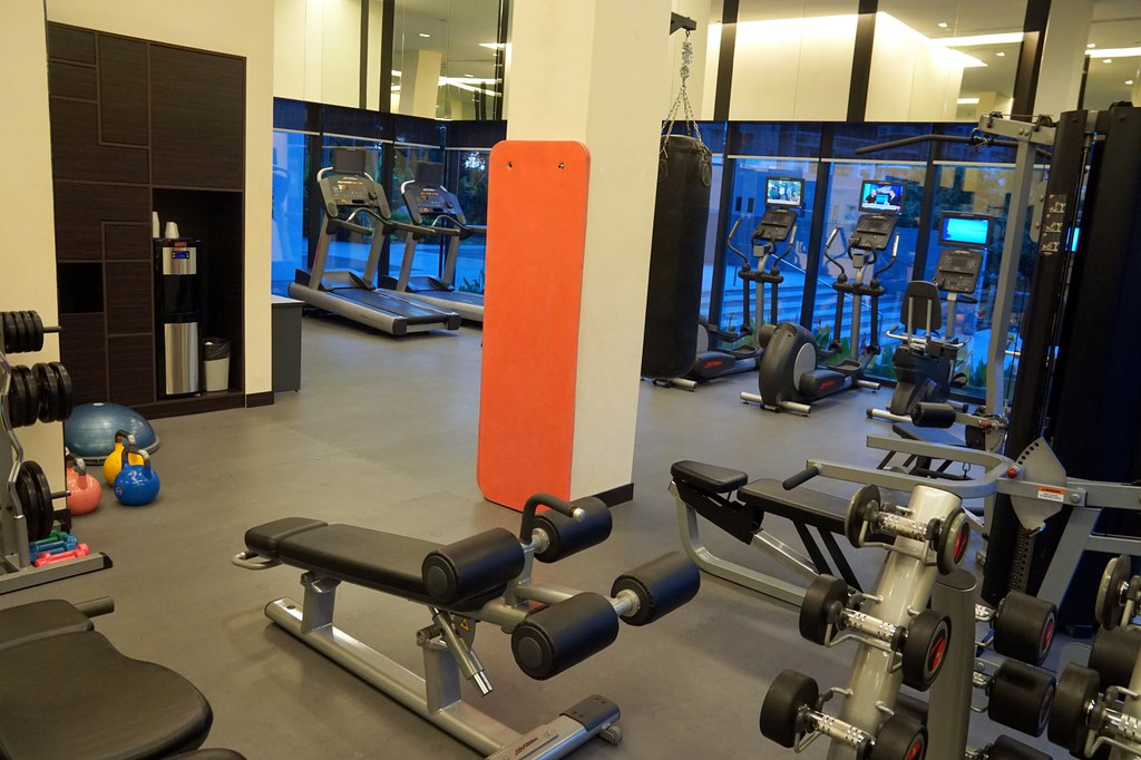 ramada hotel singapore -  gym