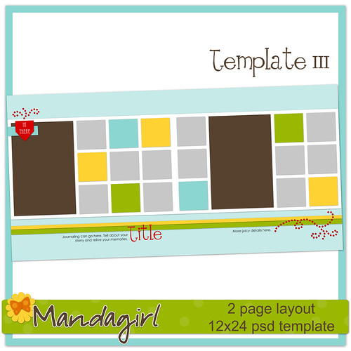 Template 111 -Mandagirl Preview