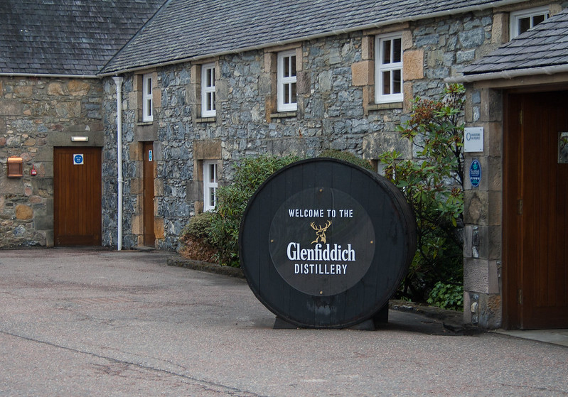 The Glenfiddich Distillery Tour