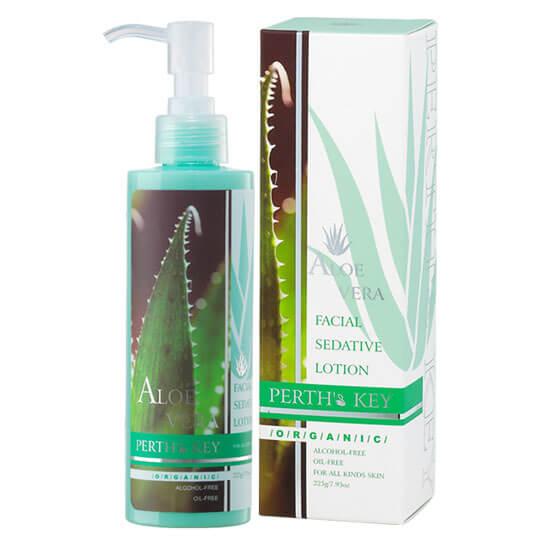 敏感肌化妝水推薦!蘆薈養顏化妝水含有機蘆薈、小黃瓜、金銀花萃取,緩敏保濕肌膚