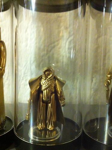 Vintage Star Wars Action Figures 24KT Gold Edition Jawa