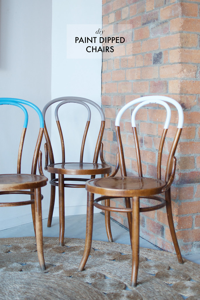 Diy Paint Dipped Chairs A Pair Amp A Spare Bloglovin