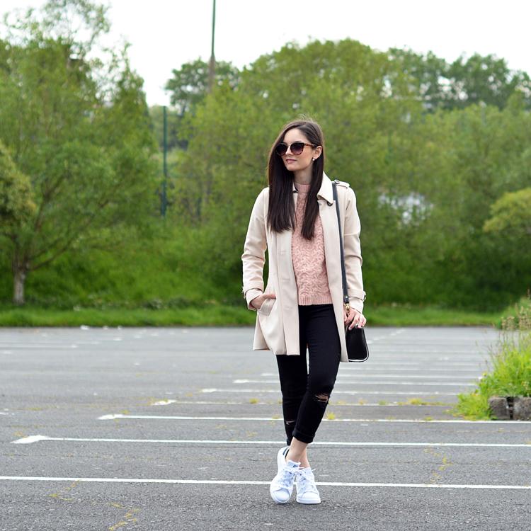 Zara_ootd_outfit_oasap_stan_smith_como combinar_sneakers_jeans_04