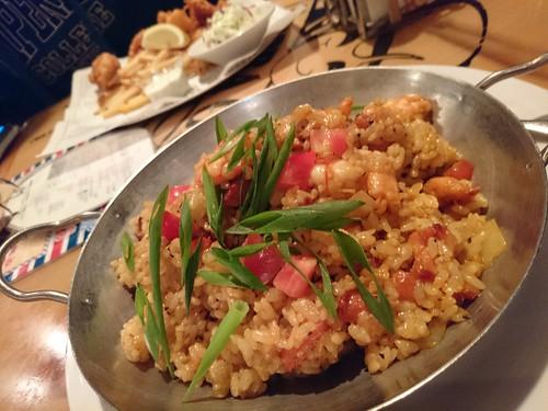 Jambalaya at Bubba Gump Shrimp Co.