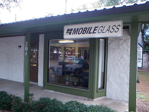 Mobile Glass Office in North Austin, Tx