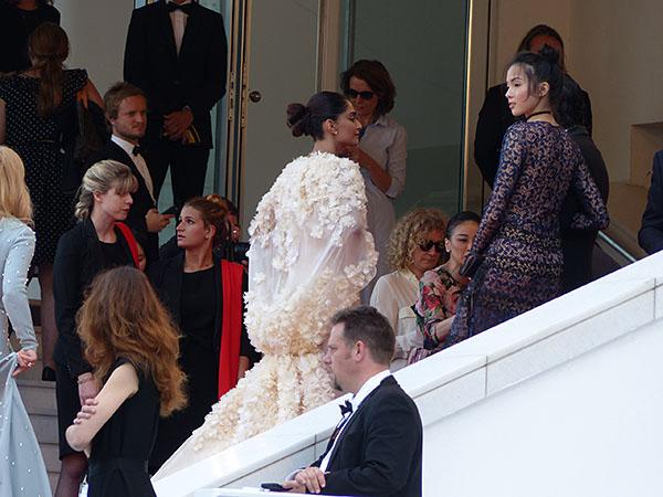 très belle robe blanche