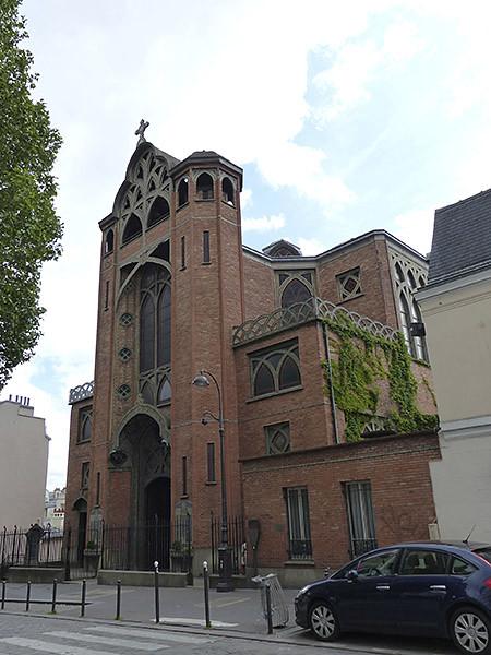 l'église saint jean  l'évangéliste