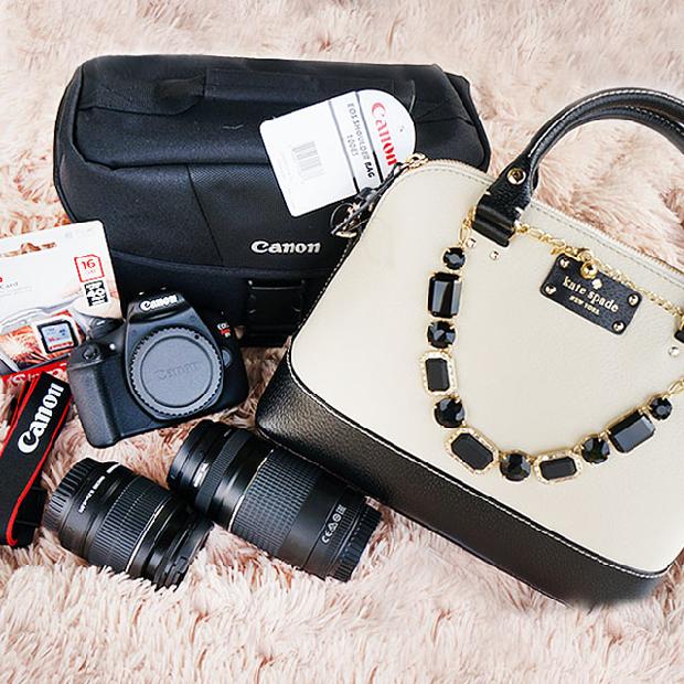 Canon Rebel Camera Giveaway, Kate Spade Giveaway
