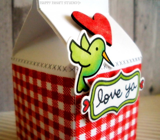 gingham milk carton 2