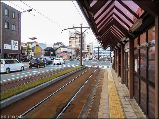 Fudagi Streetcar Stop, Toyohashi, Japan 1