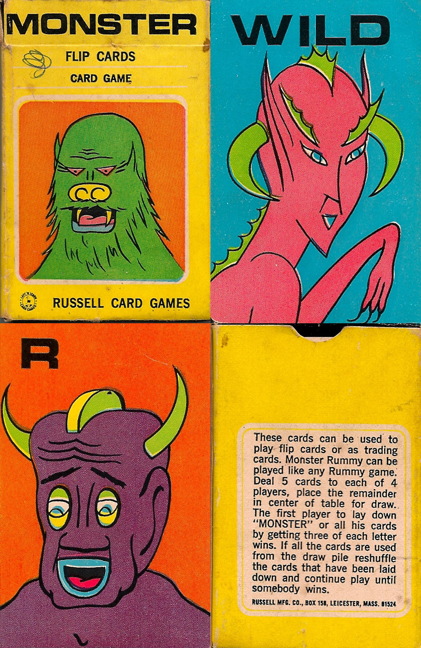 Monster Flip Cards - 1