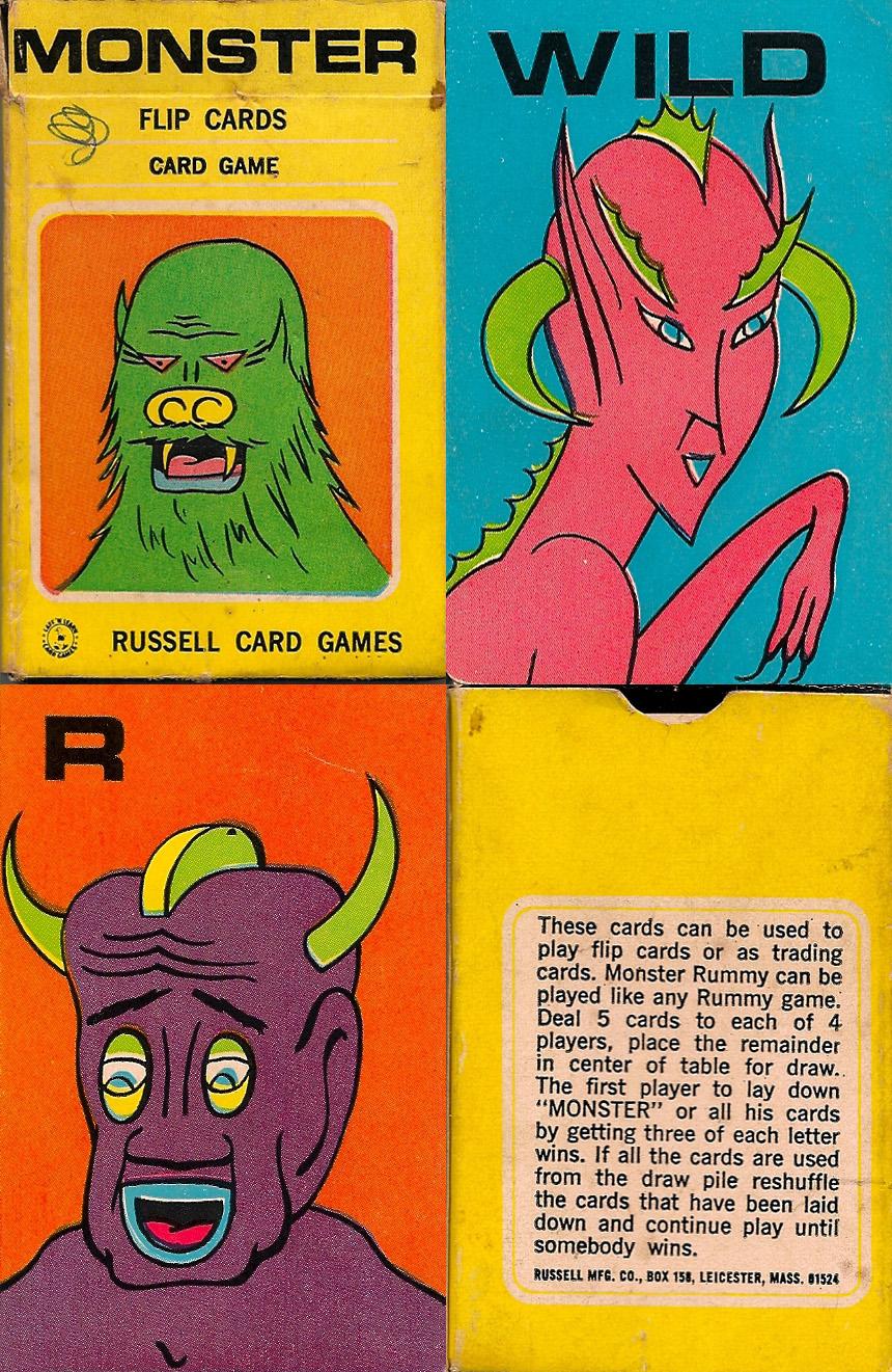 Monster Flip Cards - 1