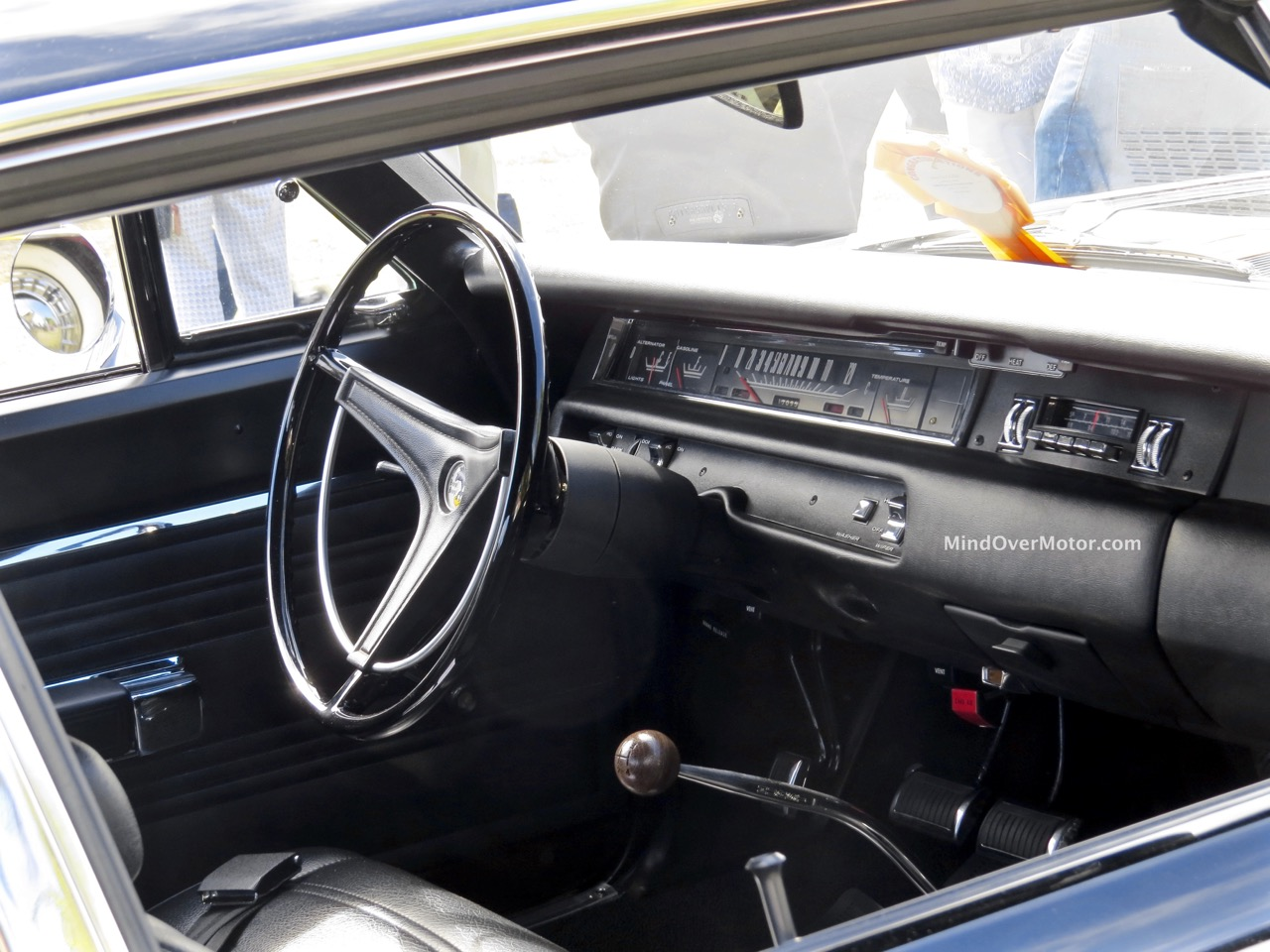 1969 Plymouth Road Runner Interior