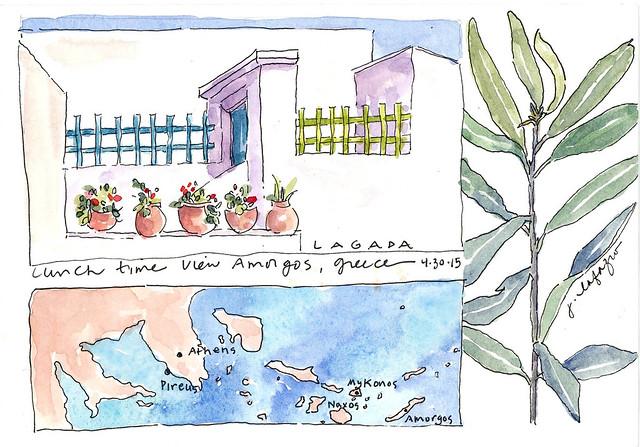 from my sketchbook ~ greece