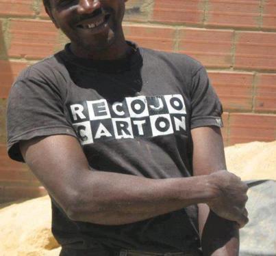 foto graciosa de camiseta con mensaje