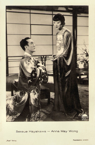 Anna May Wong and Sessue Hayakawa in Daughter of the Dragon (1931)