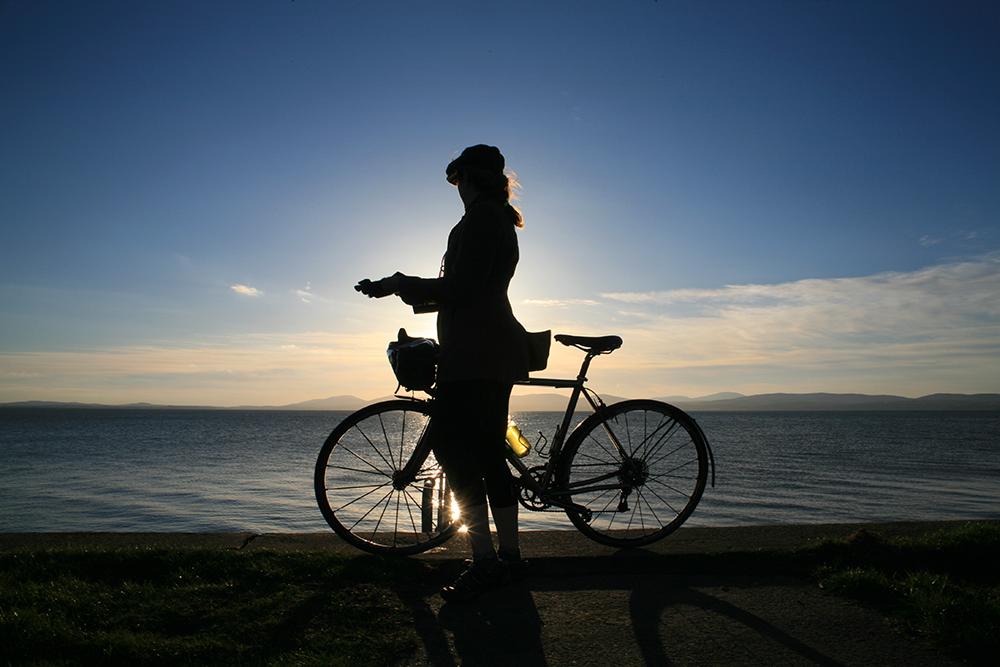 Sunset Ride, Myroe Seawall