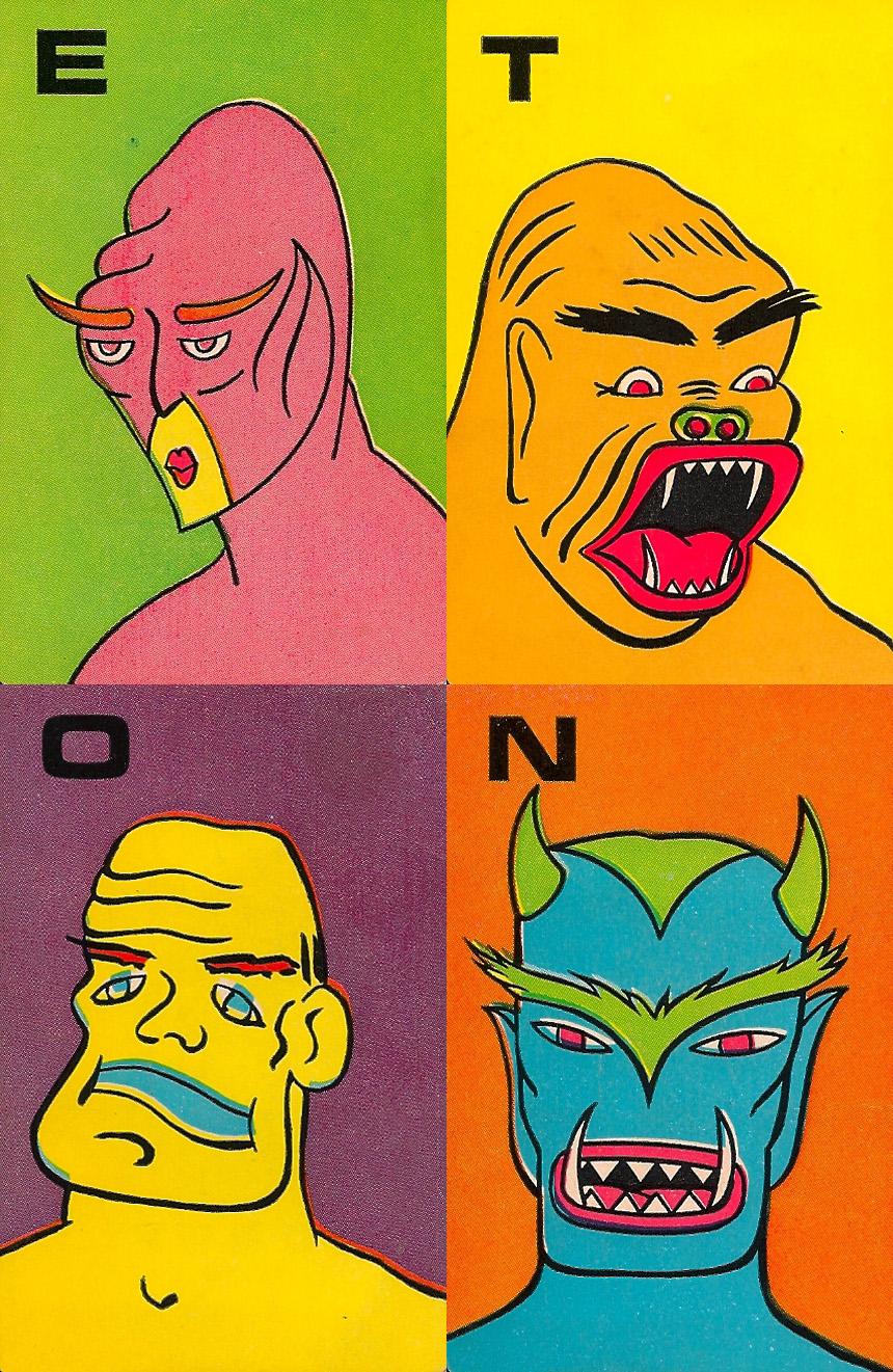 Monster Flip Cards - 2