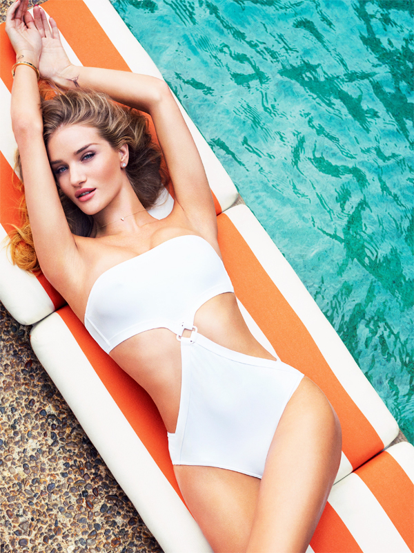 Esquire UK April 2015 Issue - Rosie Huntington-Whiteley by Simon Emmett