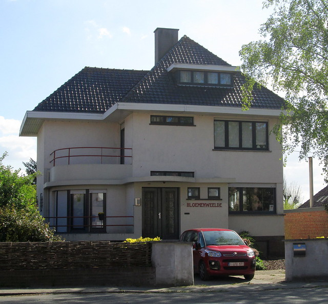Art Deco House Ypres