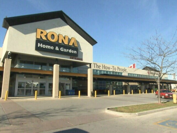Rona's overall revenue was up 1.9% from a year ago in Q1
