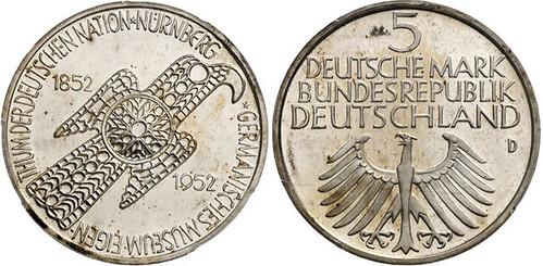 1952 'Germanisches Museum' Commemorative Coin
