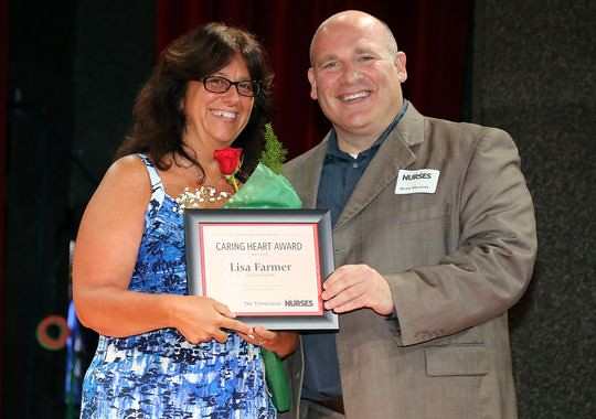 Nurse Practitioner receives service award at Salute to Nurses in Tennessee
