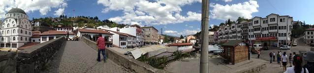 Niksar市區全景