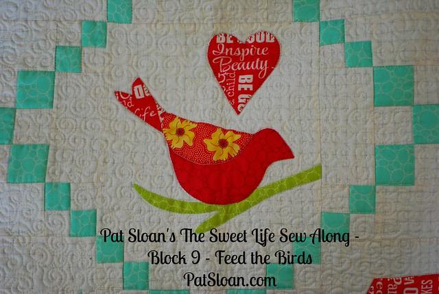 Pat Sloan Sweet Life Sew Along block 9