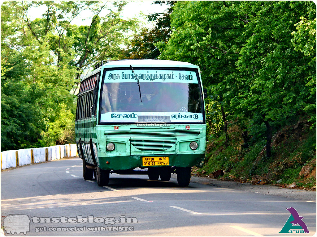 TN-30N-0129 of Johnsonpet 2 Depot  Salem Yercaud Chottachedu