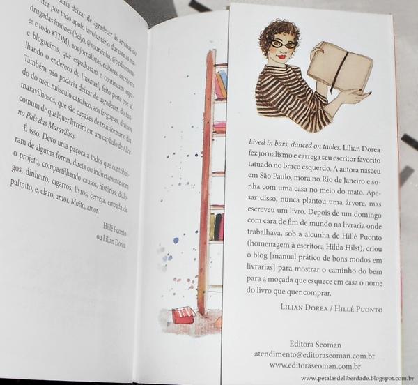 Lilian Dorea manual prático de bons modos em livrarias