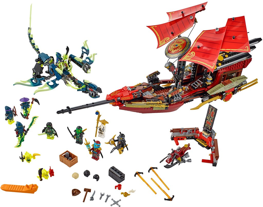 LEGO Ninjago 2015: 70738 - Final Flight of Destiny's Bounty