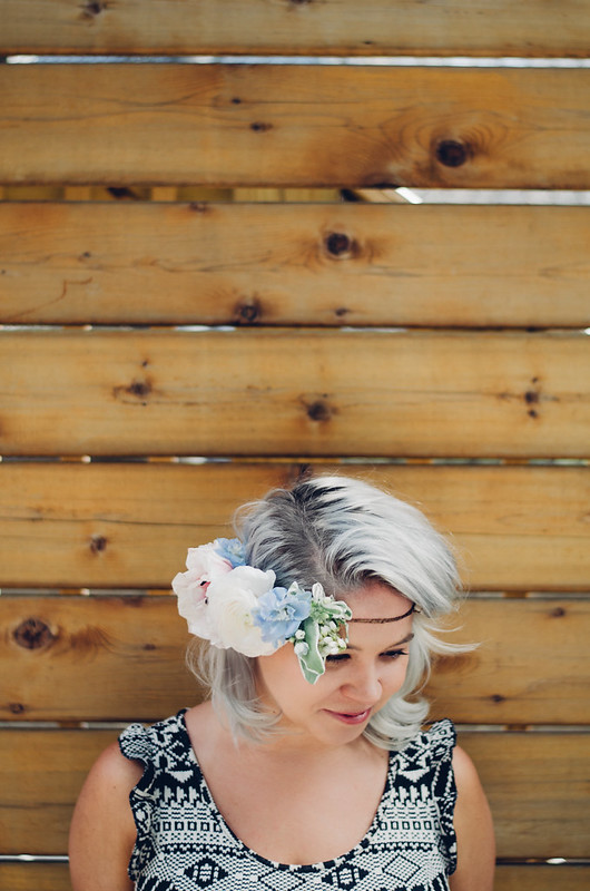 DIY Flower Crowns with Krissy Price on juliettelaura.blogspot.com