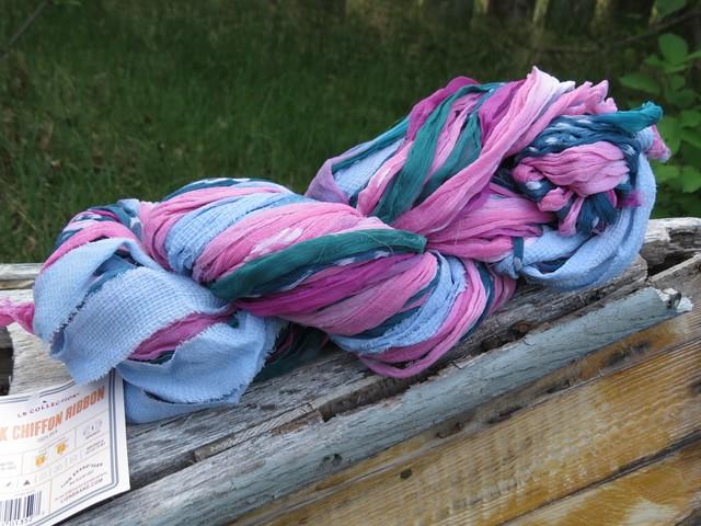 Lion Brand Silk Chiffon Ribbon