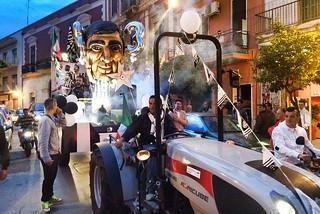 Noicattaro. Festeggiamenti Juventus 2015 front