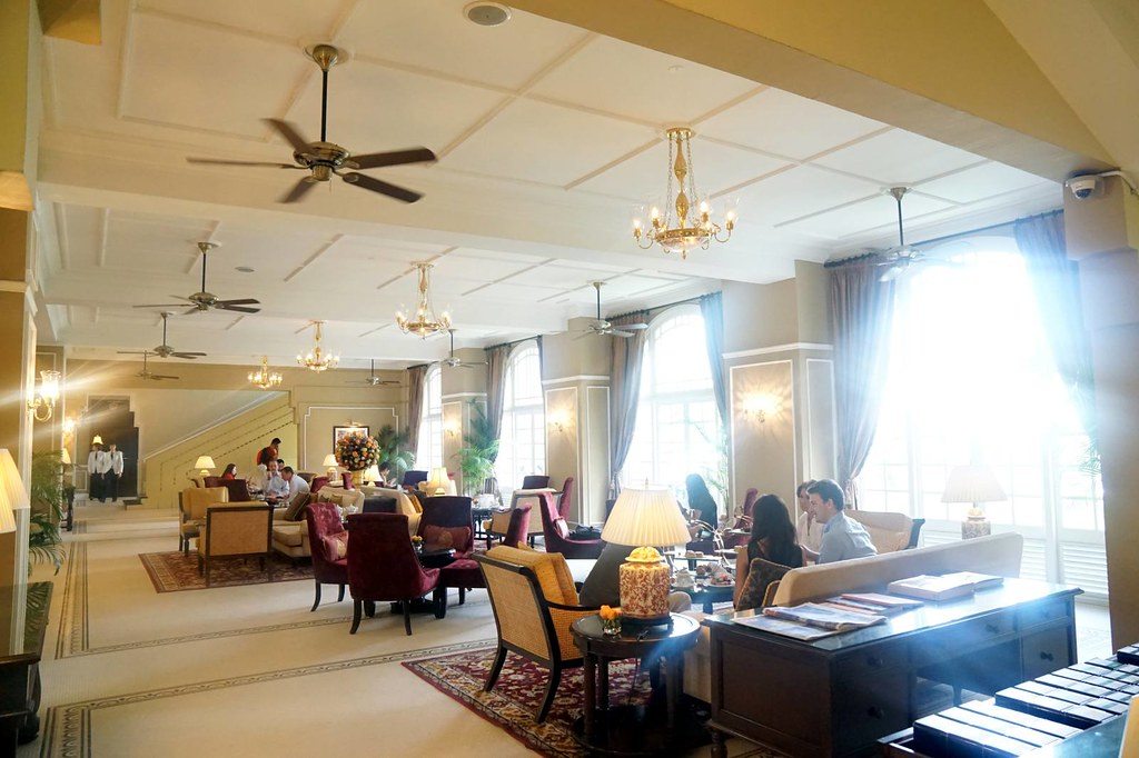 the tea lounge  - Majestic Hotel