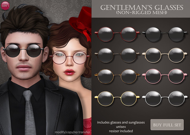 Gentleman's Glasses (for TLC)