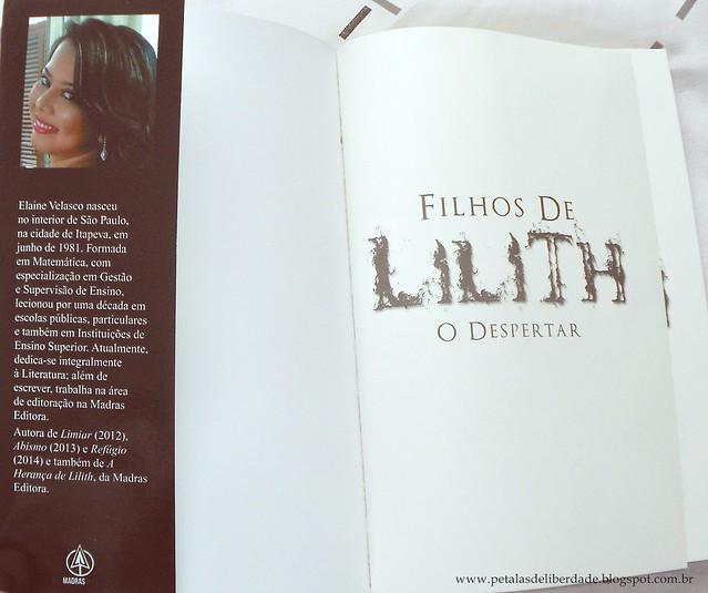 Elaine Velasco, Filhos de Lilith - O Despertar, Madras Teen