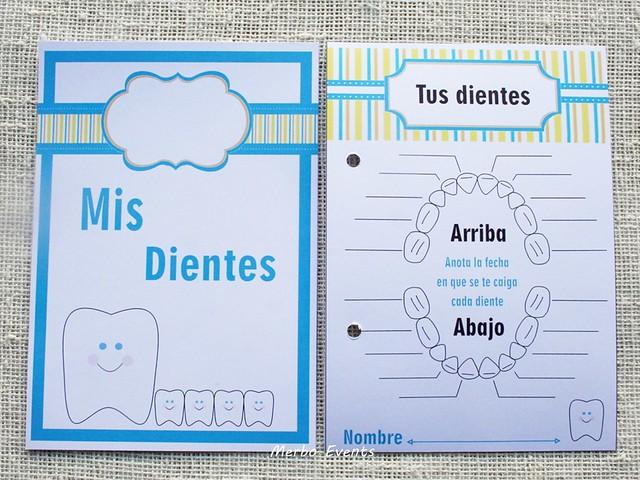 Portada y Fichas imprimibles diario Ratoncito Perez Merbo Events