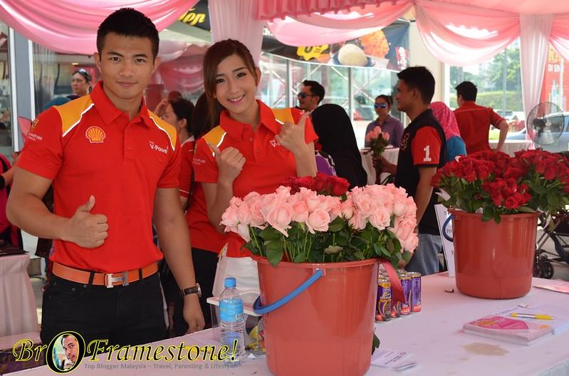 Sejambak Bunga Ros Segar Sempena Hari Ibu Dari Shell Malaysia